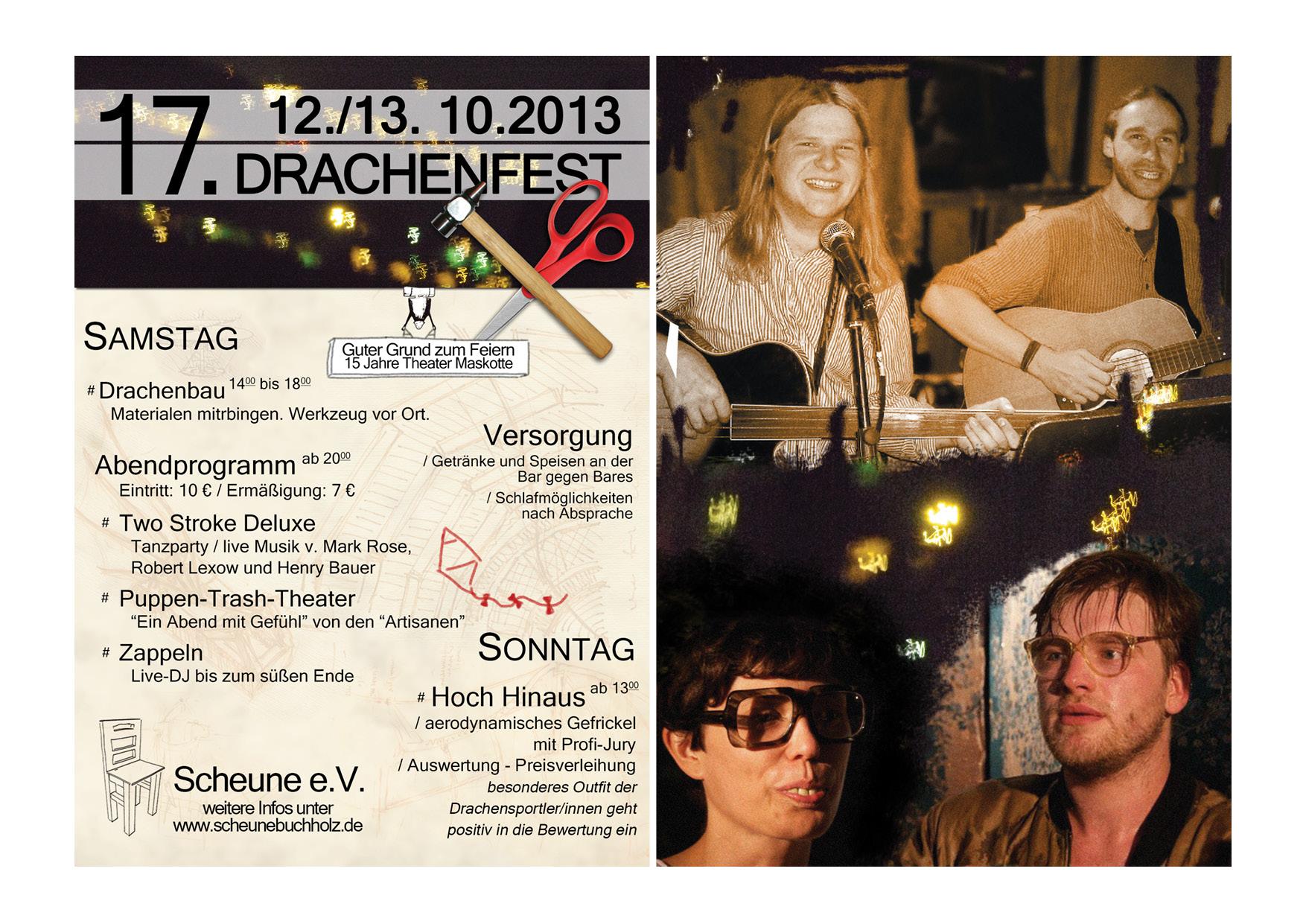 offzieller Drachenfestflyer 2013