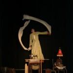 Anneliese als Mühle - Theater Maskotte