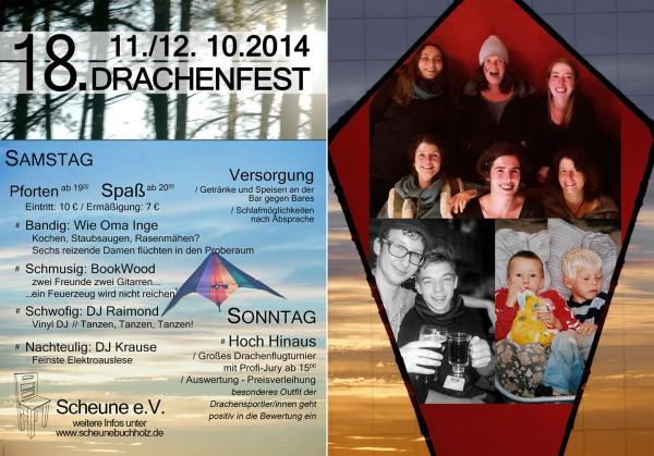 Drachenfestflyer 2014